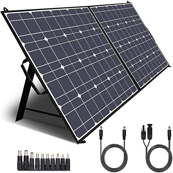 5 Best Camping Solar Panels Available Online (Review and Buyer's Guide)
