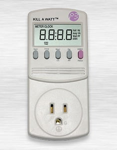 P3 International P4400 Kill-a-Watt Electricity Usage Monitor