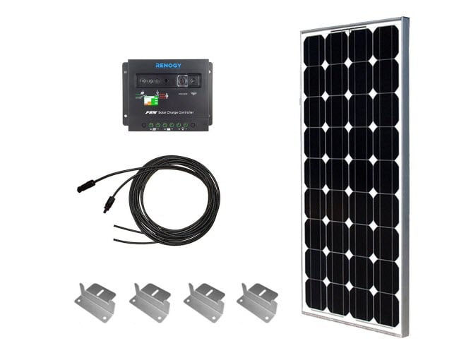 Cheap and Best 100W Complete Solar Power Kit from Renogy