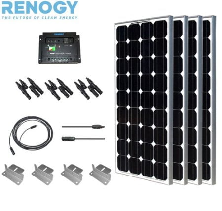 Renogy Complete Solar Panel Kit 400 Watts